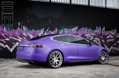 Exclusive Motoring Tesla Model S P85 (Exclusive Motoring) Tags: photography florida miami wheels wrap exotic neice worldwide raymond custom luxury exclusive avant garde matte tesla motoring
