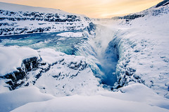 Gullfoss waterfall (oskarpall) Tags: