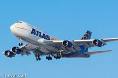 Atlas Air (WestJet) | WS8977 | N465MC | Boeing 747-446 | YYZ (Trevor Carl) Tags: canon airplane eos photo aviation transport boeing westjet charter yyz avgeeks torontopearsoninternationalairport avgeek torontopearsoninternational 60d 747446 cyyz alltypesoftransport ws8977