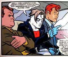 Conan O'Brien and Andy Richter as Henchmen - Madman Comics 3230 (Brechtbug) Tags: show from city red horse irish orange man men art mike andy face by night dark comics hair logo frank book cow high team funny comedy artist comic skin o head brian einstein talk funnies lick snap 1999 pale redhead host coco blank obrien comicbook late tall mad richter 13 legend madman nite cowlick 1990s tundra 90s brien pasty standup conan allred henchmen pallid