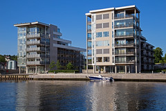 Along_The_River 4.12, Fredrikstad, Norway (Knut-Arve Simonsen) Tags: norway river norge town norden norwegen noruega scandinavia norvegia oslofjorden stfold fredrikstad norvge glomma         sydnorge