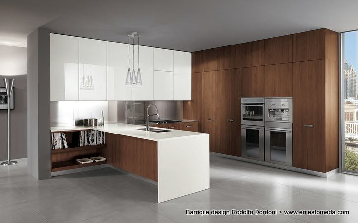 Barrique Design Rodolfo Dordoni (ernestomeda) Tags: Kitchen Design Kitchens  Walnut Barrique Cucina Cucine