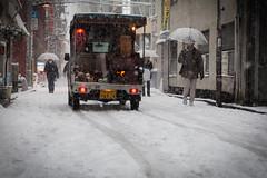 Snow in Akiba (kanon_7) Tags: snow tokyo  akiba