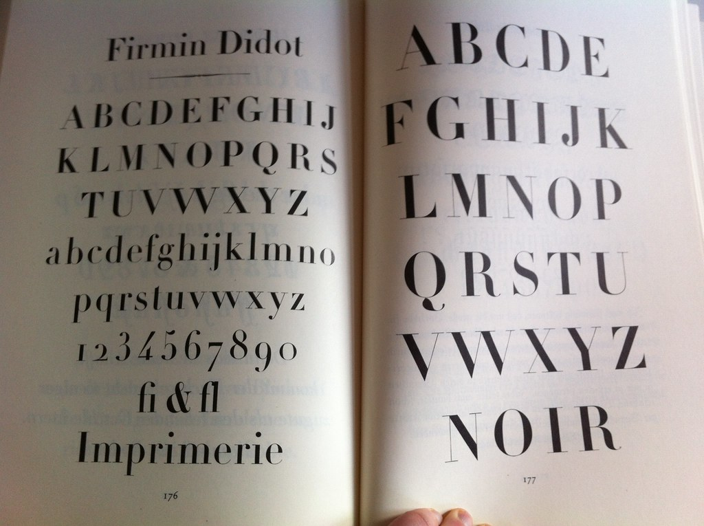 The World's Best Photos of didot and type - Flickr Hive Mind
