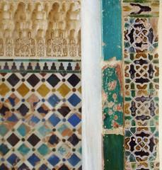 La Alhambra de Granada (Claudia's eyes) Tags: travel espaa art colors andaluca spain colours arte mosaic mosaico unescoworldheritagesite unesco viajes alhambra granada medina andalusia colori viaggi spagna alandalus mosaici andalus alcazr  patrimoniomondialeunesco reinonazardegranada arteandalus  alamr