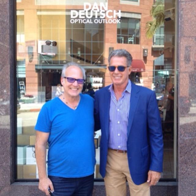 550dcdf784 Dan and Jack Scalia at the Beverly Hills shop. (Dan Deutsch Optical Outlook)