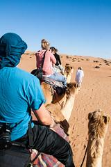 Camel ride (mastahanky) Tags: desert camel sands oman wahiba