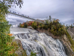 Above the Falls. (GillWilson) Tags: canada quebec falls montmorency