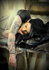 Tattoo Tea Party @ Manchester (Mr.Barthez aka Alan A.) Tags: sleeping beauty tattoo sleeve tattooteaparty