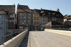 Laufenbrcke ( Brcke - Bridge => Baujahr 1911 ) ber den R.hein in der Altstadt - Stadt Laufenburg im Kanton Aargau in der Schweiz (chrchr_75) Tags: schweiz switzerland suisse swiss ag christoph svizzera aargau mrz 2014 suissa 1403 laufenburg kanton chrigu kantonaargau chrchr hurni chrchr75 chriguhurni chriguhurnibluemailch mrz2014 hurni140317 albumstadtlaufenburg stadtlaufenburg
