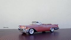 1957 Cadillac Eldorado Biarritz Convertible (JCarnutz) Tags: seville cadillac eldorado 1957 biarritz diecast brougham franklinmint 124scale danburymint