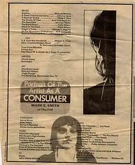 Mark E. Smith - Portrait Of The Artist As A Consumer