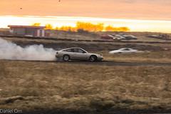 IMG_0994 (Danniorn) Tags: pictures sunset cars car race racecar iceland cool daniel smoke tire tires bmw danni myndir drift icelandic orn danel bmwkraftur danniorn danniornsmarason