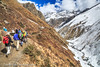 Autumn Trekking In the Himalayas, Thorung Phedi, Annapurna Circuit, Nepal (Feng Wei Photography) Tags: travel nepal mountain snow color horizontal trek landscape asia outdoor scenic hike remote lonely annapurnacircuit annapurna himalayas trekker manang gandaki thorungphedi annapurnahimal annapurnaconservationarea