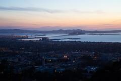 Dusk from the Berkeley Hills overlooking SF Bay (theordinaryphotographer) Tags: sanfrancisco berkeley timelapse dusk bayarea sanfranciscobay lawrencehallofscience