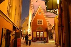 Tuisuses Tallinnas (anuwintschalek) Tags: schnee winter snow evening abend tallinn estonia december snowfall lumi altstadt oldtown nicht eesti schneesturm estland 2014 vanalinn htu alv tuisk d7k lumesadu nikond7000 18140vr