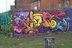 Klone (tombomb20) Tags: park street art wall graffiti paint tag leeds spray hyde lettering graff klone 2061 rosebank tfa 2015 zenor tombomb20 zenor2061 klonism