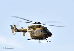 Eurocopter-Kawasaki BK-117B-2 (Bernhard Fuchs) Tags: rescue water plane airplane search nikon aircraft aviation air helicopter helicopters rettung heli sar adac hubschrauber helgoland bk117 luftrettung seenotrettung