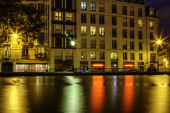 Canal Saint-Martin (tullio dainese) Tags: city paris france outdoor francia città parigi allaperto