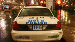 NYPD Crown Victoria (burakmckars) Tags: new york ny slr ford chevrolet smart highway suburban tahoe police nypd victoria vision chevy vic crown hd express van fusion silverado signal federal department siren gmc patrol undercover unmarked p71 savana