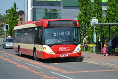 Halton Transport Scania CN230UB 93 MIG8177 - Widnes (dwb transport photos) Tags: bus scania widnes omnicity haltontransport mig8177