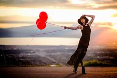 Just a sample of tonight's shoot. Tiana killed it! (Fotos de mis aventuras!) Tags: girl magazine model balloon gilr modling
