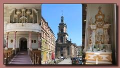 Basilika St. Johann (p_jp55 (Jean-Paul)) Tags: church collage germany deutschland basilica kirche allemagne glise basilika saarland basilique saarbrcken saarlorlux sarre basilikasanktjohann saabrigge