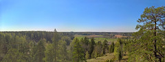 Panorama May 05 2016 (JonasSuni) Tags: sky panorama building tree field forest suomi finland landscape outdoor