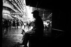 The Day in Market (Kunotoro) Tags: china street city people urban bw streets monochrome asian photography hongkong blackwhite asia market chinese streetphotography streetlife soe asiapeople stphotographia streetpassionaward blackwhitepassionaward