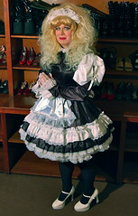 More maid stuff (jensatin4242) Tags: sissy transvestite maid crossdresser petticoat sissymaid jensatin