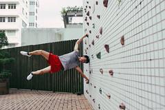 Hang Power (Alan P. in Hong Kong) Tags: sony a65 documentary hongkong city life volleyball