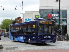 Reading Buses 652 YX64 VLV on 500 (1) (sambuses) Tags: 652 parkride readingbuses yx64vlv
