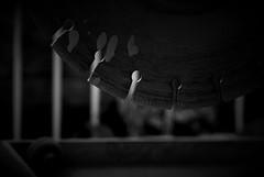 stone ripper (Sebastian Schmeinck) Tags: shadow blackandwhite bw white black art metal stone dark saw perfect iron view top steel extreme perspective spot best sharp schatten highlight tool schwarz dunkel ripper sge weis werkzeug