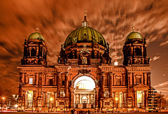 BERLINER DOM (01dgn) Tags: sunset sky berlin colors architecture night germany deutschland outdoor dom farben berlinerdom almanya