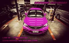 😄😄 สวัสดีวันเสาร์ วันนี้ NKS เปิดให้บริการตามปกตินะค่ะ :)  🚗 แวะชมของแต่งรถ 🚗 www.nekketsu-racimg.com  #แต่งรถยนต์