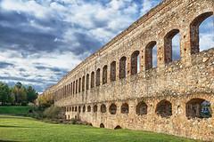 ESPANHA - Mrida - Acueducto de San Lzaro (Infinita Highway!) Tags: trip travel arquitetura architecture de spain arquitectura highway san espanha europa europe sony espana merida acueducto viagem alpha infinita lzaro acueductodesanlzaro