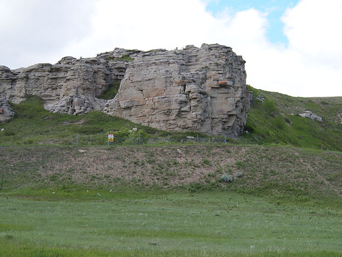 Bison Jump site near the Lower Two Medicine River