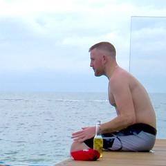 IMG_1496 (danimaniacs) Tags: ocean shirtless hairy man hot sexy male guy beach water hair beard mexico body hunk shorts puertovallarta trunks swimsuit stud scruff mansolo