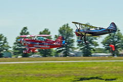 Movin' On (Fly Sandman) Tags: k dracula airshow biplane pitts radialengine s2b willallen formationflight kylefranklin demon1 franklinsflyingcircus n669vp willallenairshows flyingtenor