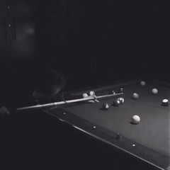 a hole in one a brief noir art film by @adamchamy (anokarina) Tags: bw art film pool monochrome blackwhite video noir korea seoul billiards itaewon      instagram appleiphone6