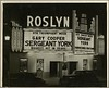 The Roslyn Movie Theater, 850 North Howard Street (spacecadetsf) Tags: york sign movie triangle theater theatre north baltimore collection company photograph cooper gary sergeant roslyn howardstreet specialcollections box28 peale photoprints bclm 198226 baltimorecitylifemuseumcollection
