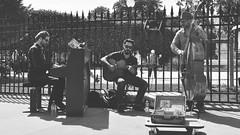 Jazz in Paris (Fabrice1965) Tags: paris france pub nikon mtro 9 montmartre notredame sacrcoeur ciel colette visite ladfense tourisme ligne d90 musiquederue mariecarmen