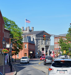 Market Square toward the Custom House (RockN) Tags: massachusetts newengland newburyport marketsquare customhouse