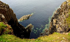 Vrtigo (camus agp) Tags: costa mar escocia canoneos acantilados