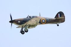 Hawker Hurricane LF363 (Mk IIc) at RAF Coningsby (markalfa83) Tags: sports canon lens eos mark hurricane sigma ii 7d mk raf 014 hawker iic coningsby lf363 150600