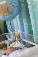 It's a Boy (kellyhackney1) Tags: life family blue boy baby cute love hospital happy cherub babyboy piccy itsaboy littlecherub