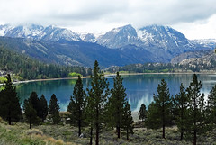 Rainy Morning, June Lake, CA 2015 (inkknife_2000 (6.5 million views +)) Tags: california usa snow mountains landscape landscapes skyandclouds mountainlake junelake reflectiononwater easternsierranevada snowonmountains carsonmountain dgrahamphoto