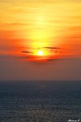 derniers instants du jour (florence.V) Tags: mer france soleil 14 normandie calvados manche coucherdesoleil trouvillesurmer