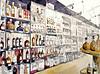 Niort, spiritueux ! (Croctoo) Tags: alcools rhum whisky armagnac cognac spiritueux croctoo croctoofr croquis aquarelle boutique poitou