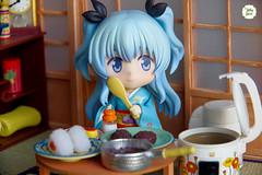At Home (Ylang Garden) Tags: corner japanese rice grandpa kimono rement gs dollhouse madoka goodsmile nendoroid